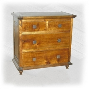 Asian oak Chest 2 over 2drw