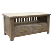 Beach TV Stand 2Drawers