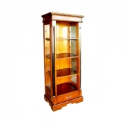 High Bookcase Glass Side