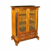 Small Bookcase Glass Dr