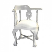 Chippendale corner chair w