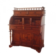 Mahogany dutch rolltop desk