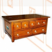 Batavia coffee table CD Chest