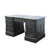 Partner desk blackwash