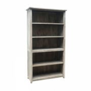 Rustic mango tall bookcase