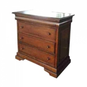 Sleigh Chest Drawers 4D