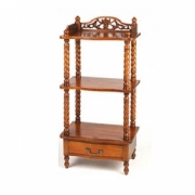 Victorian side rack 1 drw