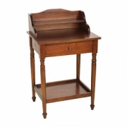 Small writing desk w shelve