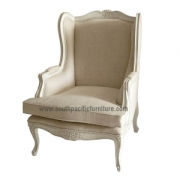 Shabby chic French Wing Chair