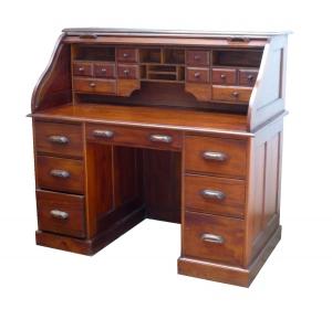 Rolltop Texas Writing Desk